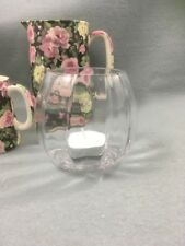 Clear Ripple Glass Tea Light Holders x 12 Job Lot / Wedding / Party