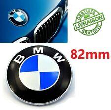 Logo BMW 82mm Capot Coffre Insigne Signe Série 1 3 5 6 7 8 X Z E36 E39 E46 E91