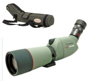 Kowa TSN-663 66mm XD Spotting Scope + 20-60x Eyepiece + Stay-on Case  (UK)  BNIB