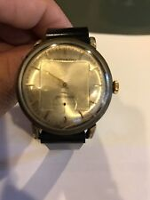 VINTAGE MOVADO MECHANICAL STAINLESS STEEL MENS WRIST WATCH 1950'S SWISS FOR PART