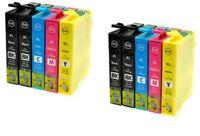 10 CARTOUCHES COMPATIBLES EPSON T1631 T1632 T1633 T1634 WF2510 2520 2650 2630