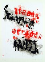 Untitled, 1995. Grosses Multiple von Laszlo LAKNER (*1936 HUN/D), handsigniert