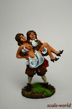 Collection, tin soldier, figure. Pirate with a lady 54 mm