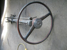 Early1950's Pontiac steering column, steering wheel, steering box, signal switch