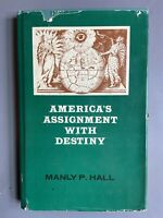 America's Assignment With Destiny Manly P. Hall Esoteric Occult Secret Society