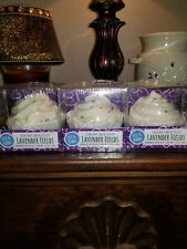 LOT OF 3 NEW  Cupcake Lavender Fields Bath Fizzy New and Sealed