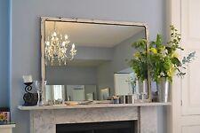 Large Mirror, artisan, industrial-style, Antique White colour