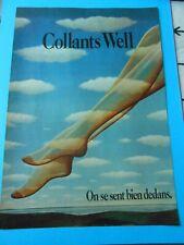 Publicité advertising 1976  Collant Well on se sent bien dedans