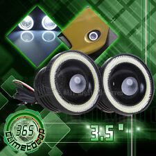 3.5 inch 2400Lm Round White Angel Eye Halo LED Projector Fog Light 4X4 ATV Truck