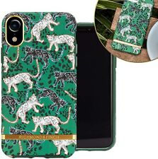Richmond and Finch Case Designed for iPhone Xr Green Leopard