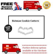 Small batman fondant cutter for cake decorating biscuit making