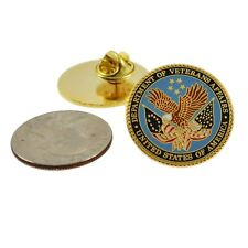 Va Department of Veterans Affairs Logo Lapel Pin Military Veteran Federal Agency
