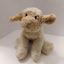 """GUND 11"""" Plush EWENICE LAMB 3324 Sheep Vintage White Cream Tan Floppy Animal Toy"""