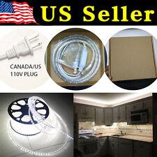 3 Feet Cool White 120V High Powe SMD3528 Flexible LED Strip Rope Celling Light