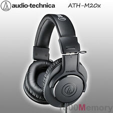 Audio Technica ATH-M20x Professional Studio Monitor Headphones Black