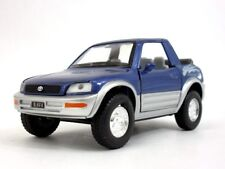 "New 5"" Kinsmart Toyota Rav4 Cabriolet Diecast Model Toy Car Concept 1:32 Blue"