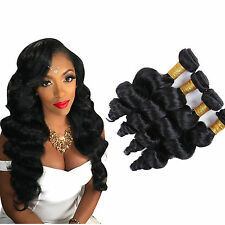 "Peruvian Loose Wave Human Hair Weave Weft Virgin Remy Hair 10""X4,200G/4Bundles"