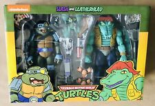 NECA Target Exclusive TMNT Teenage Mutant Ninja Turtles SLASH & LEATHERHEAD Set