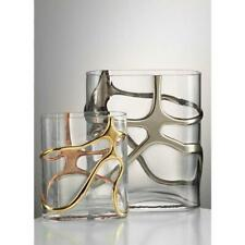 Eisch Stargate Vase with Gold Shapes