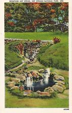 Postcard Arkansas Hot Springs National Park Miniature Hot Spring 1944
