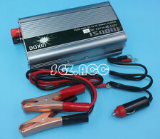1500W Auto Car DC 12V to AC 110V Power Inverter Charging Charger Converter