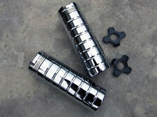 Mid School BMX Chrome Haro Pegs Fits 14mm Axles