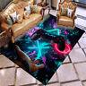3D NEW Gamer Video Games Black Rug Doormat PlayStation Door Floor Mat Carpet