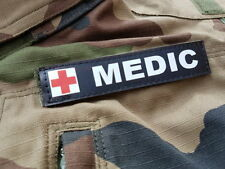 "SNAKE PATCH - Bande Patronymique "" MEDIC "" medical infirmier AIRSOFT MILSIM PVC"