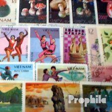 Vietnam 50 diferentes sellos
