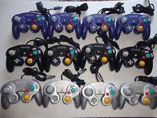 2 pcs nintendo gamecube wii controller OEM, original official ,black,silver,indi