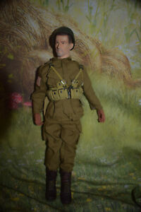 "WW2 Action 12"" Figure  Military Soldier Sideshow Collectibles"