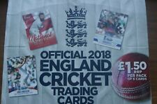Signed England Cricket 2018 ECB trading cards Tap n play choose from list
