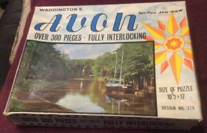 WADDINGTONS VARI-PIECE VINTAGE JIGSAW: AVON Over 300 Pieces