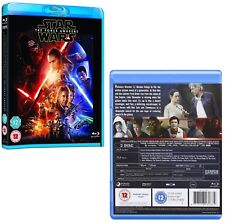 STAR WARS 7 (2015) - VII THE FORCE AWAKENS - 2D BLU-RAY + BONUS Disc Region Free