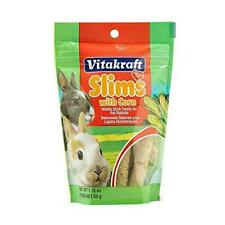 Vitakraft Rabbit Slims With Corn Nibble Stick Treat, 1.76 Ounce Pouch