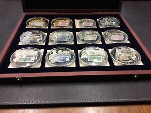 British Banknotes Commemorative Proof Coin Set with Certificates
