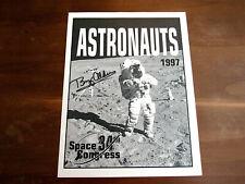 BUZZ ALDRIN APOLLO 11 NASA SIGNED AUTO 34TH SPACE CONGRESS 1997 PROGRAM RRA LOA