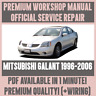 *WORKSHOP MANUAL SERVICE & REPAIR GUIDE for MITSUBISHI GALANT 1996-2006