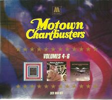 MOTOWN CHARBUSTERS VOLUMES 4, 5 & 6, I WANT YOU BACK & MORE - 3 CD BOX SET