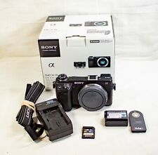 Sony Alpha NEX-6 16.1MP Digital Camera - Black (Body Only)