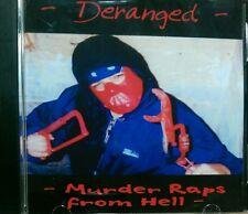 DERANGED-Murder Raps From Hell, 2001 Attitude Records - Detroit Horrorcore Rap