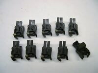 10 Repro American Flyer Split Conversion Knuckle Couplers + 10 Rivets