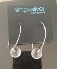 Long Sterling Silver Earrings / Jon Richards