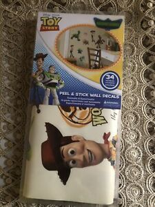 Toy Story Peel & Stick Wall Decals Glo-in Dark, 34 Count RoomMates RMK1428SCS