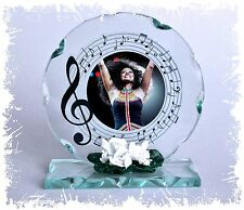 Diana Ross Cut Glass Round Plaque Fan Memorabilia Limited Edition #4