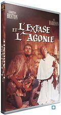 "DVD ""L'EXTASE ET L'AGONIE"" Charlton Heston  NEUF SOUS BLISTER"