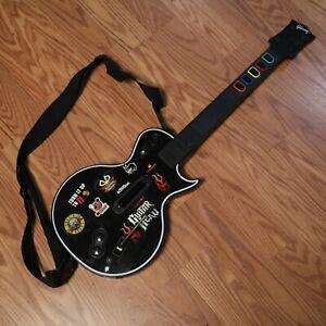 Xbox 360 Guitar Hero Wireless Controller Red Octane Gibson Les Paul - 95123.805
