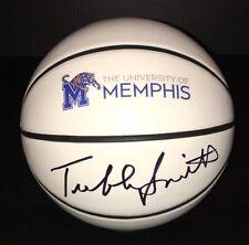 Memphis Tigers TUBBY SMITH Signed Autographed Logo Basketball COA! Texas Tech