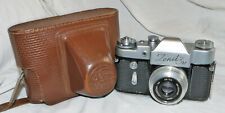 Zenit 3M Vintage 1960's Soviet 35mm Camera With Industar 50mm f3.5 Lens