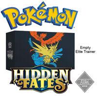 Elite Trainer Hidden Fates 65x Sealed Sleeves